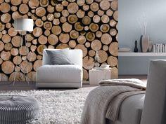 Papiers Peints Aspect Bois Et Inspiration Nature En 47 Photos ! Nice Design
