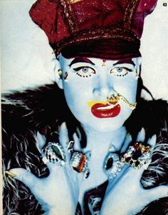 """Dress as though your life depends on it - or don't bother."" FrontiersLA.com 