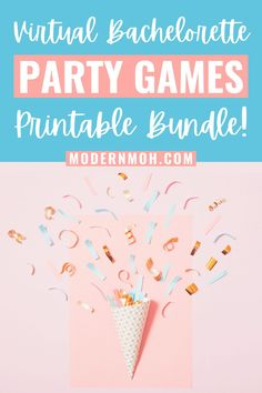 Who says social distancing can't be fun!? Our 'Quarantine Edition' games bundle is perfect for any type of virtual hangout- bachelorette party, bridal shower, or girls night in! Included in this bundle are three popular party games: Drink If, Scavenger Hunt and Scattergories. #virtualbacheloretteparty #virtualbachelorettepartygames #MadebyModernMOH #ModernMOH Bachelorette Party Scavenger Hunt, Bachelorette Party Planning, Wedding Gifts For Bridesmaids, Bridesmaid Proposal, Funny Drinking Games, Maid Of Honor Speech, Hen Party Games, Wedding Planning Tips, Plan Your Wedding