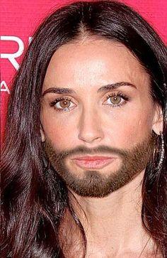 Demi gets a little Moore: She was GI Jane, now she's GI Joe...