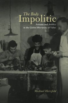 About the person, American history -- and the artist as factory or apprentice responsible worker. History. The Body Impolitic: Artisans and Artifice in the Global Hierarchy of Value by Michael Herzfeld http://www.amazon.com/dp/0226329143/ref=cm_sw_r_pi_dp_8D13vb0Z0BDRK