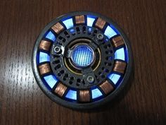 Iron Man Arc Reactor Video tutorial, DIY Wearable