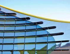 Enzo Ferrari museum, Modena, 2004 by Andrea Morgante , Amanda Levete Architects, Future Systems Future Buildings, Modern Buildings, Ferrari, Amanda Levete, Future Systems, Building Museum, Arch Architecture, Abstract City, Steel Structure