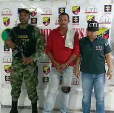 Gaula Militar y Policía Judicial CTI capturaron a pederasta en La Jagüa de Ibirico, departamento del Cesar