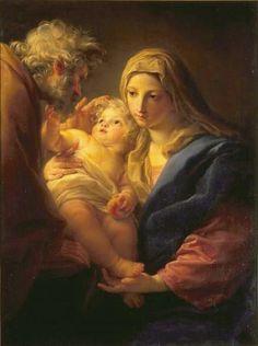 The Athenaeum - The Holy Family (Pompeo Batoni - )