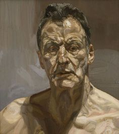 Lucien Freud self-portrait - by Lucian Freud – Germany/UK Lucian Freud Portraits, Lucian Freud Paintings, Self Portraits, Famous Portraits, Figure Painting, Painting & Drawing, Painting People, Painting Abstract, Serpieri