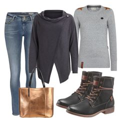 cb08a187 Freizeit Outfits: Precious bei FrauenOutfits.de Cooler Style, Fall Winter  Outfits, Fashion