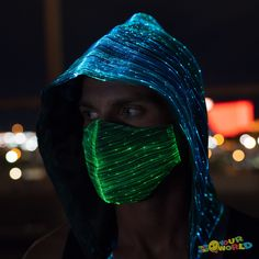 LED Rave Mask Burning Man Clothing - Black Source by arielshirk clothing styles