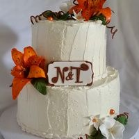 Tigerlily Wedding Cake