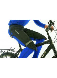 Protectores impermeables para piernas y muslos.