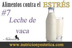 Le leche nos ayuda a relajarnos de 2 formas. Su contenido de calcio se ha relacionado con un menor número de cambios de humor. Además, la leche...    Para mas informacion encuentranos en: http://nutricionylaestetica.blogspot.com/2013/02/7-leche-de-vaca-alimentos-para-combatir.html