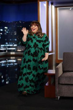 Love this dress! Melissa McCarthy