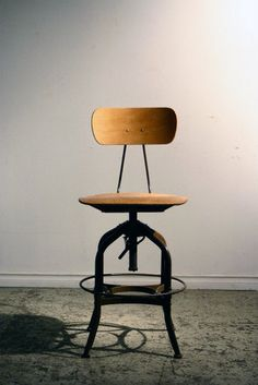 toledo drafting stool w/back Bar Stools, Tables, Chairs, School, Interior, Room, Furniture, Home Decor, Repurpose