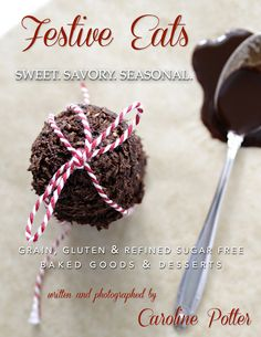 Sweet, savory & seasonal recipes for the holidays—agrain, gluten & refined  sugar free baking guide for Thanksgiving and Christmas. Great for Paleo or  diabetic lifestyles. Also available on iBooks for iPad and Amazon's  Kindle.