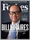 Forbes Billionaires, interesting to see some of the biggest growth sectors for the big end of town.