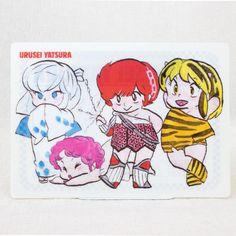 RARE Urusei Yatsura Plastic Pencil Board Shitajiki Girlhood LUM OYUKI BENTEN RAN