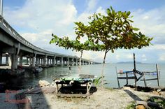 Scene of Tranquility: By the Penang Bridge