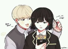 Read YOONMIN from the story BTS - Shipps by (TheProud) with 220 reads. Carta Suga: Querido Park Jimin, se que en este ult. Yoonmin Fanart, Bts Bangtan Boy, Bts Jimin, Bts Anime, My Little Corner, Min Yoonji, Kpop Drawings, Bts And Exo, Bts Chibi