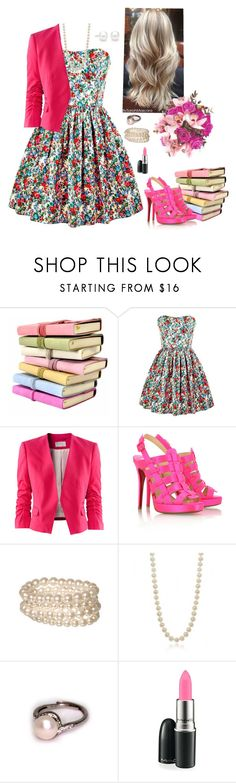 """""""Summer longing"""" by xeroxen ❤ liked on Polyvore featuring Jack Wills, H&M, Christian Louboutin, Bling Jewelry, MAC Cosmetics and Tiffany & Co."""