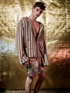 Thaddeus O'Neil Fall 2017 Menswear Fashion Show Collection