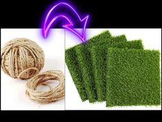 Paper Art, Paper Crafts, Plantas Bonsai, Wargaming Terrain, Handicraft, Diorama, Jute, Grass, Miniatures