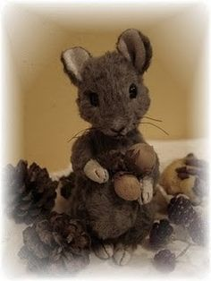 Mouse sewing pattern 5 inch PDF by noblefabric on Etsy, $15.00