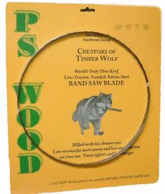 Timber Wolf Bandsaw Blades Amazon
