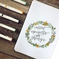 """Happy August you guys! I'm sharing with y'all my August bullet journal set-up. I'm not entirely sure what to call this theme, so I'm just going to call it """"polaroids."""" August makes me ready for fall!"""