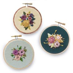 """stitchingsabbatical: """"Still looking for the perfect Mother's Day gift? Why not one of these beautiful floral hoops? The perfect gift for Moms who love flowers, but unlike real flowers these won't ever wilt! http://ift.tt/1S7sgLY..."""