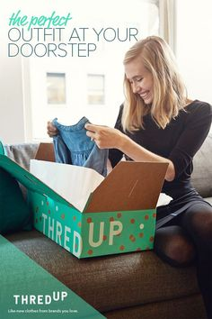 The style you want delivered directly to your door at amazing prices. As the largest online consignment and thrift store, thredUP brings you the latest fashions at the best prices. Start shopping for your favorite new wardrobe pieces now.