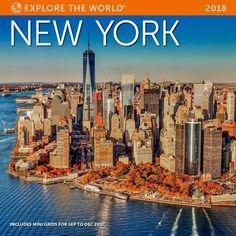 New York Wall Calendar 2018