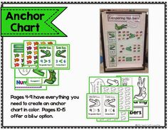 Greater Than, less Than, Equal To - anchor chart, activities, a flip book and more!