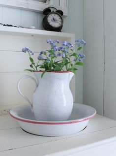 Wash Bowl & Water Pitcher