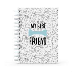Cuaderno - My best friend, encuentra este producto en nuestra tienda online y personalízalo con un nombre. My Best Friend, I Am Awesome, Notebook, Notebooks, Store, The Notebook, Exercise Book