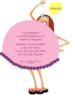 Invitaciones para Baby Shower , EL BEBE Y EMBARAZO