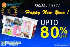 Get the best of Coupons and Offers this New Year from #Photobook-Upto 80% OFF. #Offers #Coupons #Newyear #Paylesser Why pay more?