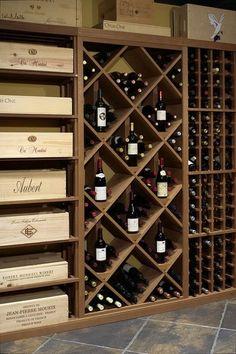 Wine Storage Cabinets, Wine Rack Storage, Wine Shelves, Wine Rack Wall, Wine Wall, Wine Rack Cabinet, Wine Cellar Basement, Wine Cellar Racks, Wine Rack Design