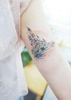 Disney castle by Banul