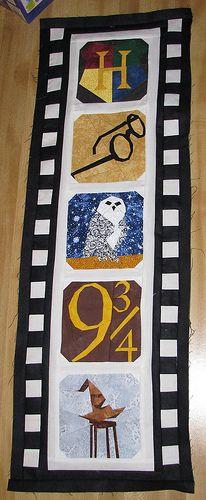 Film strip quilt