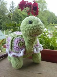 my first but not last crochet turtle