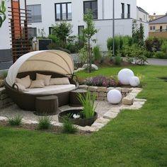 Sunken garden - ideas for conservatories - sunken garden / . Sunken garden - ideas for conservatories - sunken garden / . Backyard Garden Design, Rooftop Garden, Indoor Garden, Backyard Landscaping, Outdoor Gardens, Garden Art, Garden Ideas, Balcony Chairs, Easy Plants To Grow