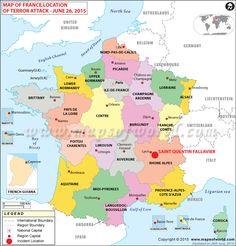 Regions Of France, France Regions Map