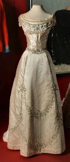 Ball gown of Grand Duchess Elisabeth Feodorovna Romanova of Russia.