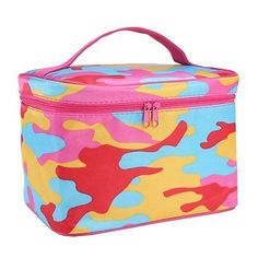 Trendy Cutest Big Cosmetic Bags Storage Make Up Brushes Tools Organizer Compact