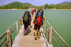 Backpacking the world on a gap year can be an exhilarating experience, but it can take some getting used to as well. Here's how to settle into your backpacking lifestyle. Oh The Places You'll Go, Places To Travel, Travel Destinations, Budget Travel, Travel Tips, Travel Essentials, Backpacking Europe, Gap Year, Future Travel