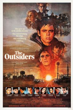 The Outsiders (1983) movie #poster, #tshirt, #mousepad, #movieposters2