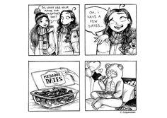 C. Cassandra comics :: Valentine's Date   Tapastic Comics - image 1