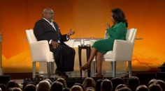 Talking with Oprah - www.tdjakes.org  Having Bishop as a pastor was one of the best things in my life.  Being a member truly help to put me back together. There have been a few pastors that have helped to shape my life: John R. Collier, Bishop Porter, Bishop Jakes and Pastor Tony Evans, Thank You!