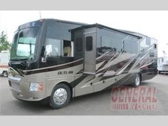 New 2015 Thor Motor Coach Outlaw 37LS Motor Home Class A - Toy Hauler at General RV | Birch Run, MI | #109098