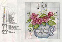 "Handcraft Ana Paula: ""Floral Teacup"""